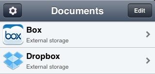 integrate with box and dropbox