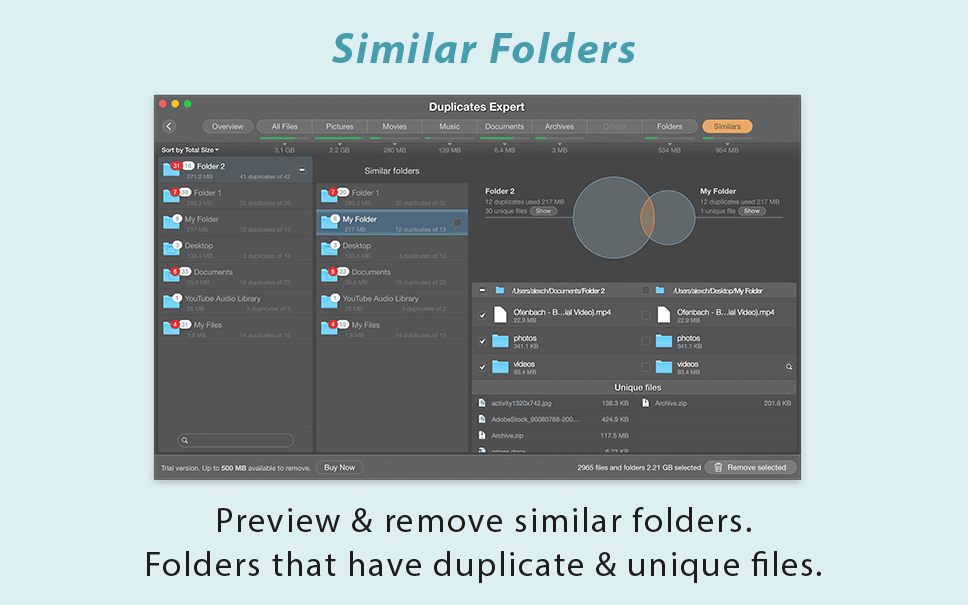 duplicates expert - file finder