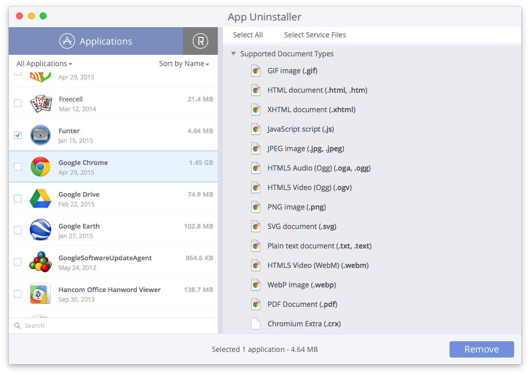 app-uninstaller-supported-document-types