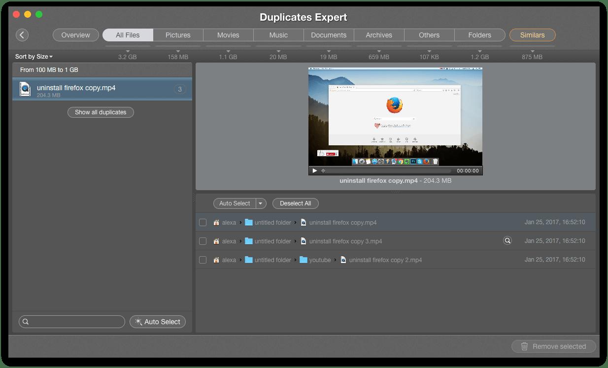 delete duplicates - smart tips