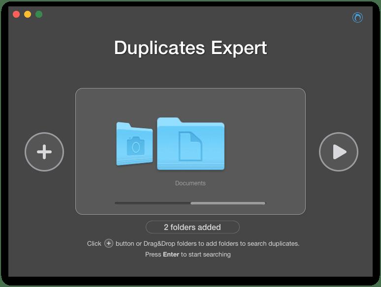 scan folders for duplicates