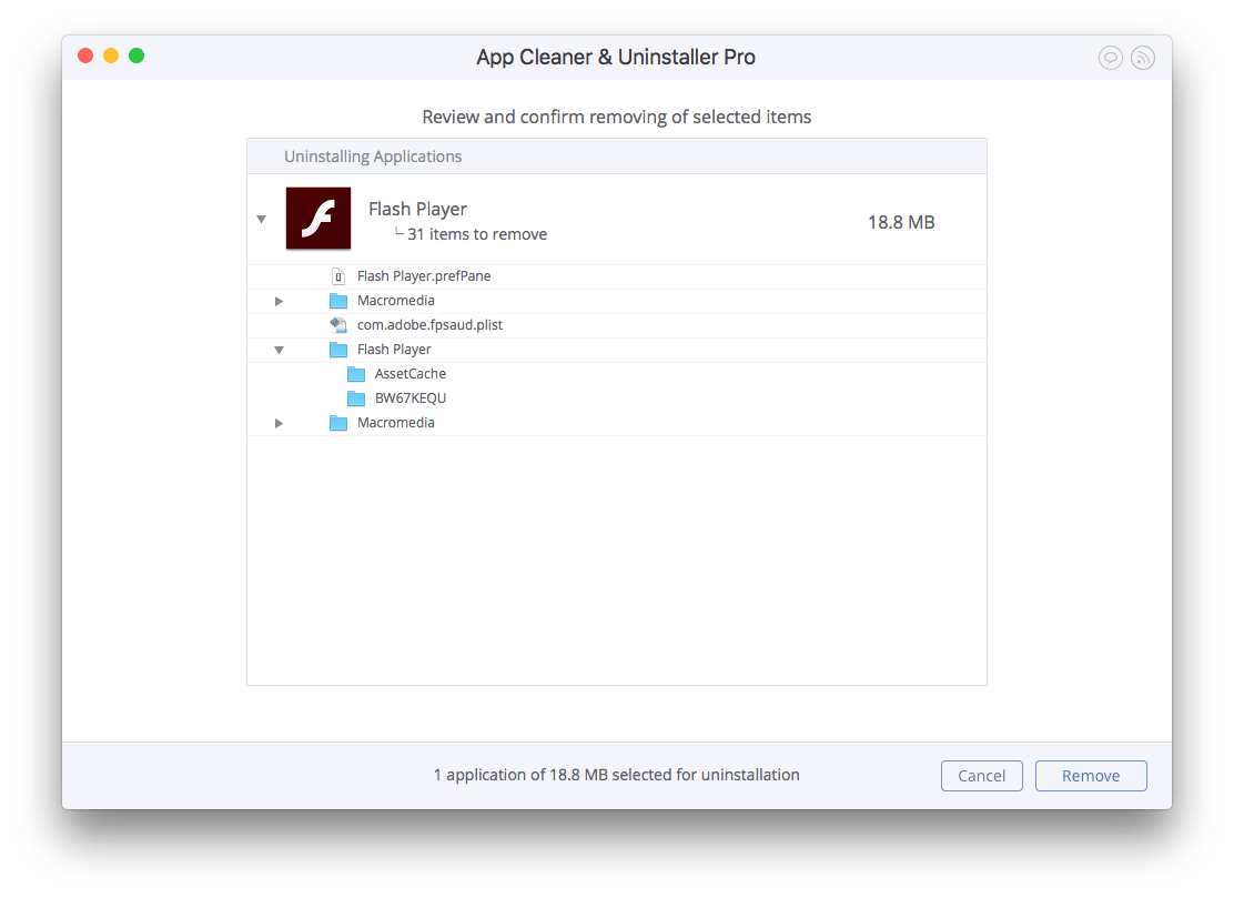 how to uninstall adobe flash