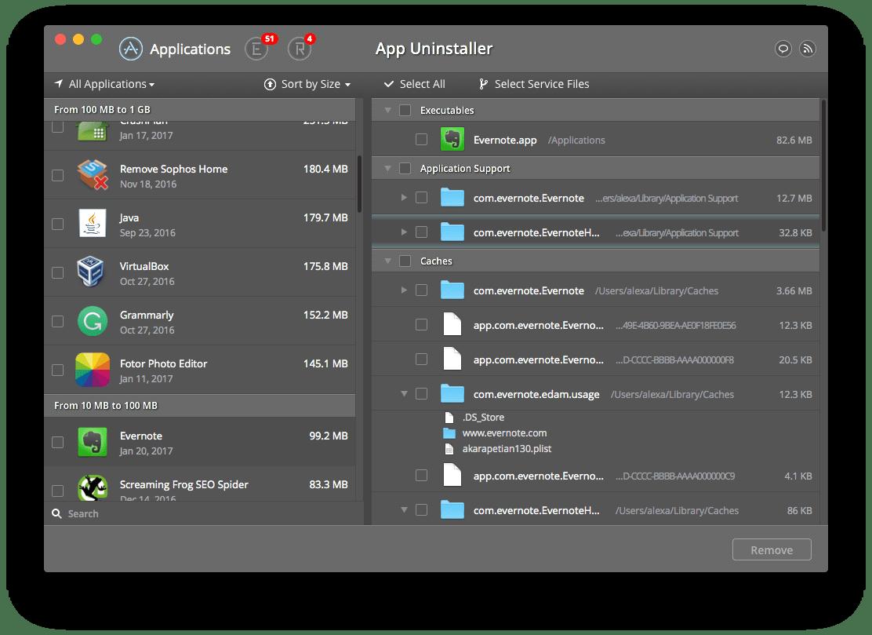 app remover - uninstaller