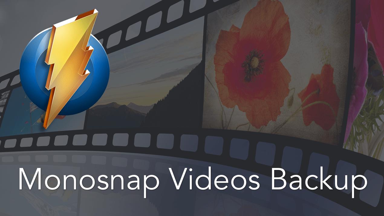 delete monosnap videos