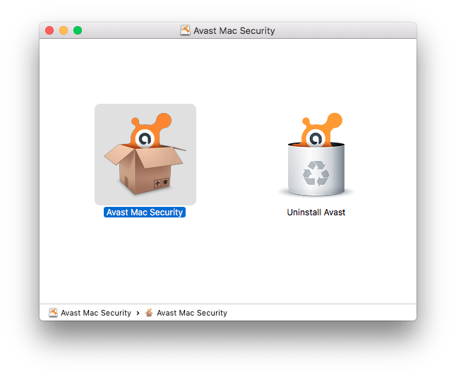 Uninstall Avast from Mac #1