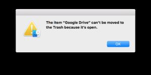 How to Uninstall Google Drive on Mac