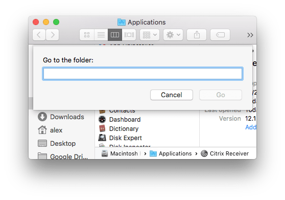 How to Uninstall Citrix Receiver on Mac