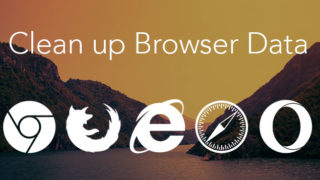 browser data - remove