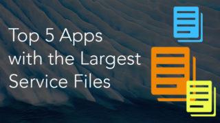 large service files