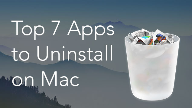 apps to be uninstalled