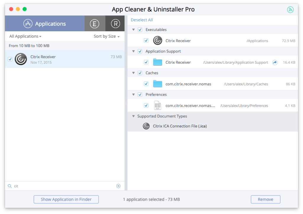 Citrix Workspace app 1901 for Mac