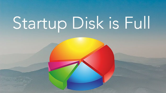 startup disk is full how to fix