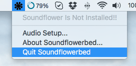 How to Uninstall Soundflowerbed on your Mac
