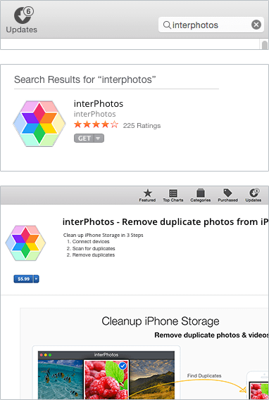Download interPhotos from Mac App Store
