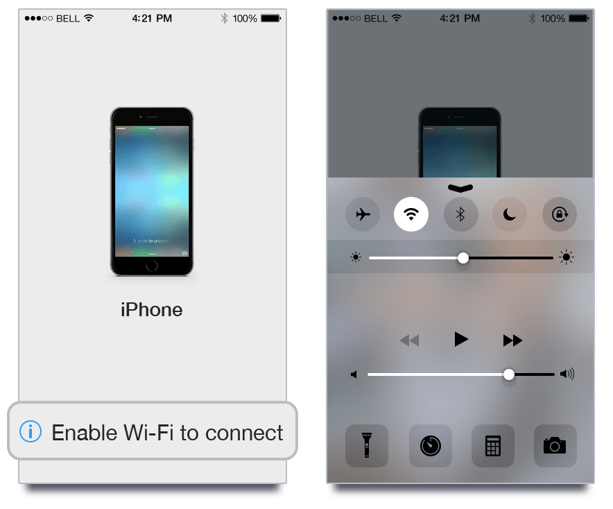 Phone Cleaner iOS Wi-Fi