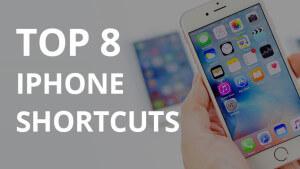 Top8iPhoneShortcuts
