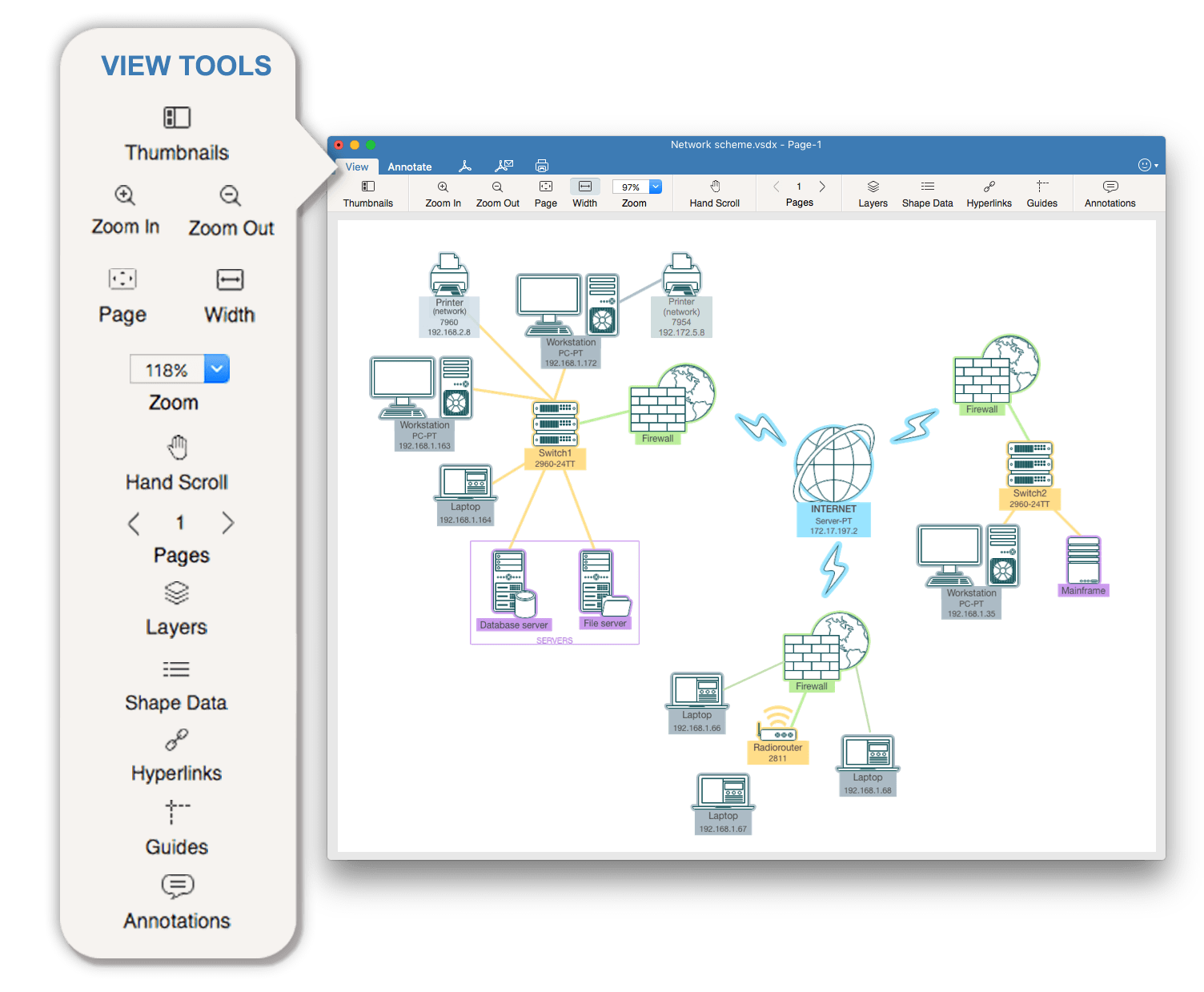 Visio_view_tools on Mac