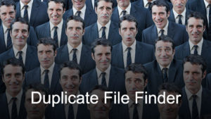 Duplicate Finder for a Mac