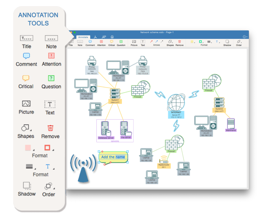 edit visio on mac