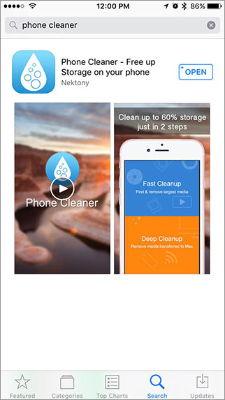 iphone cleaner app