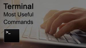 terminal commands