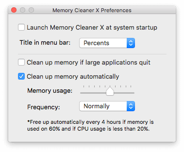 memory-clenaer-preferences