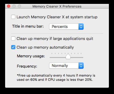 memory-clenaer-preferences