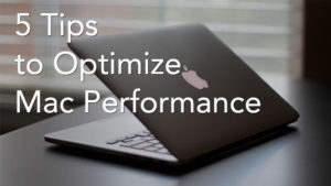 Mac performance