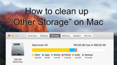clear other storage on mac