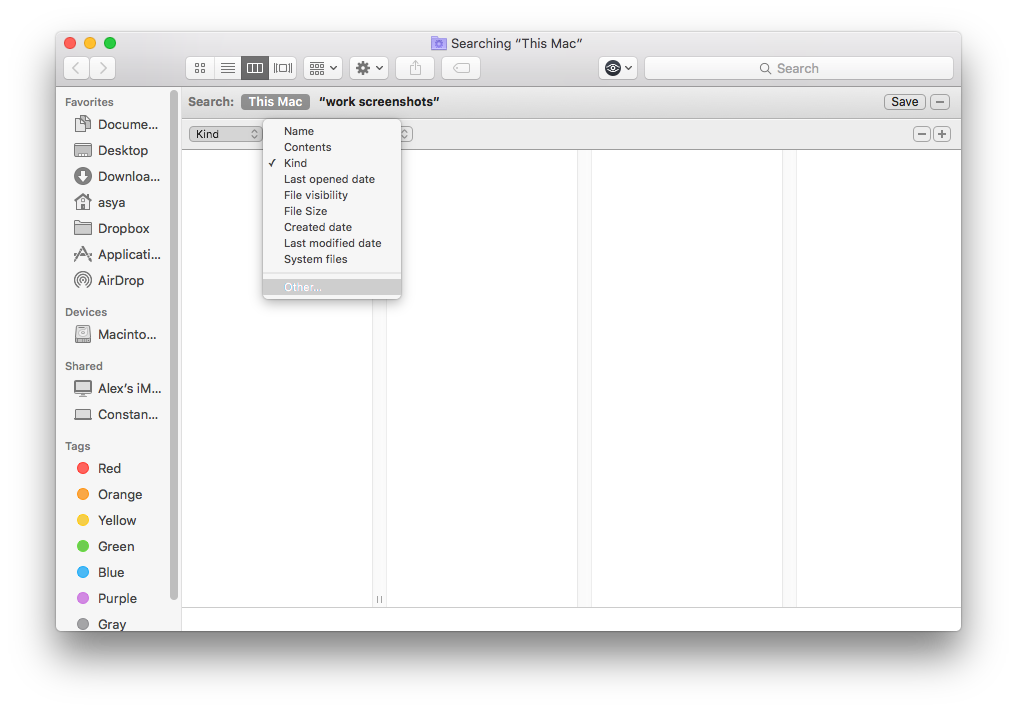 other on mac