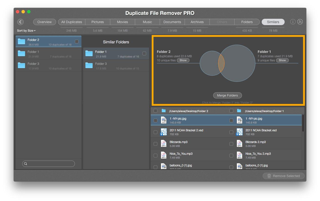 similars - duplicate file remover pro