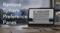 system preferences banner