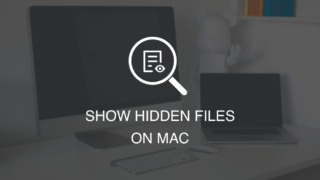 Show hidden files on mac featured image