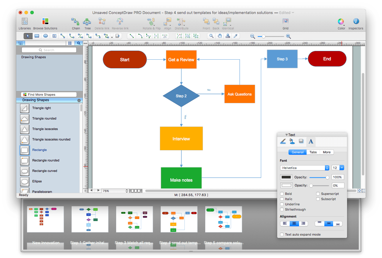 ConceptDraw Pro software window