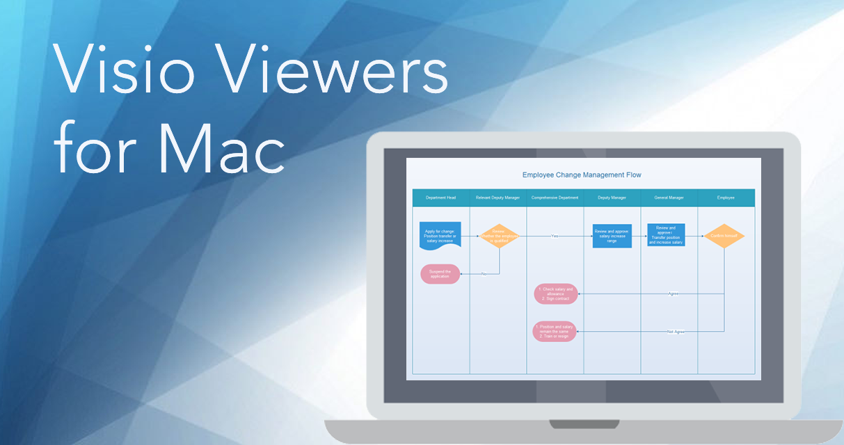 TOP 7 Visio Viewers for Mac - Comparison Chart