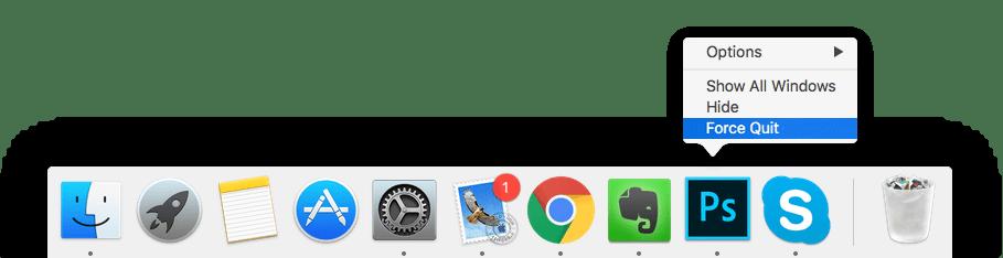 control alt delete for mac
