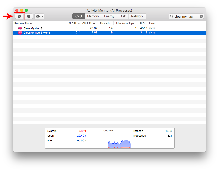 remove cleanmymac 3 completely