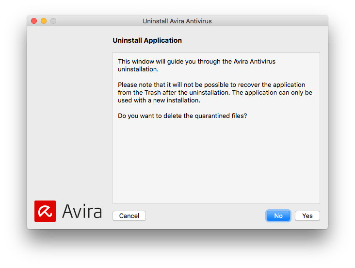 uninstall avira completely