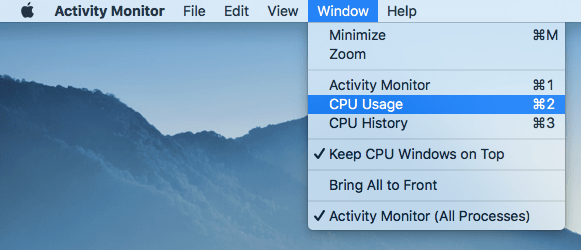 mac performance monitor
