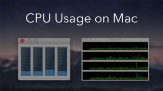 View CPU usage