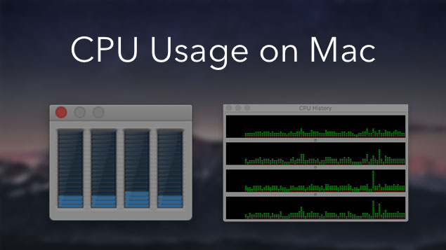 How to check Mac CPU usage