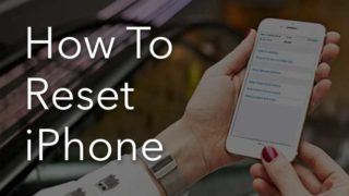 soft and hard iPhone resetting