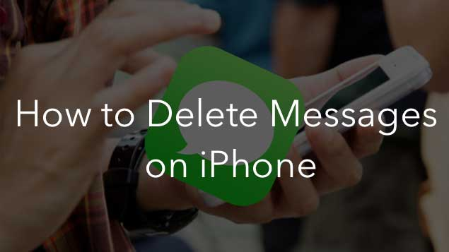 How to delete messages on iPhone | Nektony Blog
