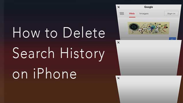 how to clear iphone search history how to delete search history on iphone nektony 18669