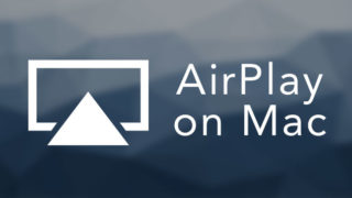 using airplay on mac