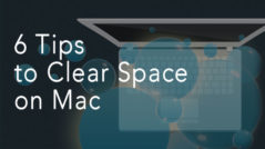 How to clear space on Mac