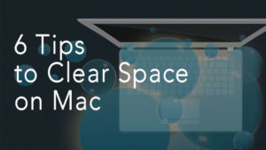 free up space on Mac