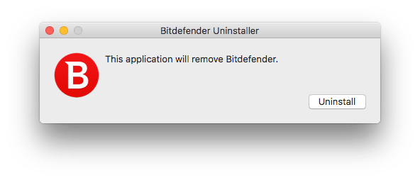 Uninstall Bitdefender on Mac completely
