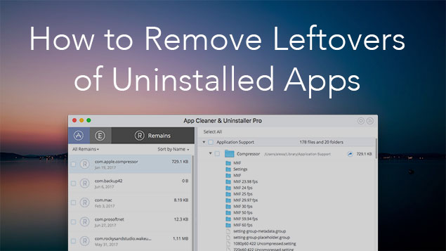 How to Find Leftovers of Removed Apps | Nektony Blog
