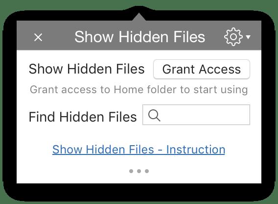 get access hidden files